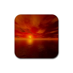 Sunset Drink Coaster (square) by Siebenhuehner