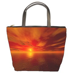 Sunset Bucket Bag by Siebenhuehner
