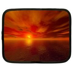 Sunset Netbook Case (xxl) by Siebenhuehner