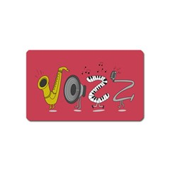 Jazz Magnet (name Card) by PaolAllen