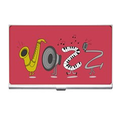 Jazz Business Card Holder