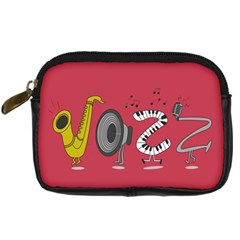 Jazz Digital Camera Leather Case by PaolAllen