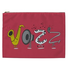 Jazz Cosmetic Bag (XXL) by PaolAllen2