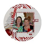 Round Ornament 1 side_Stef - Ornament (Round)