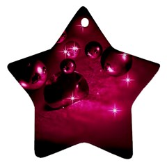 Sweet Dreams  Star Ornament (two Sides) by Siebenhuehner
