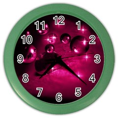 Sweet Dreams  Wall Clock (color) by Siebenhuehner