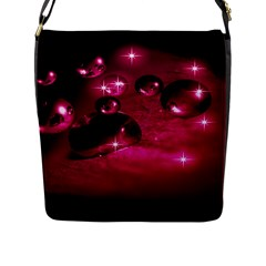 Sweet Dreams  Flap Closure Messenger Bag (large) by Siebenhuehner