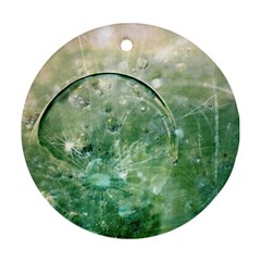 Dreamland Round Ornament (two Sides)
