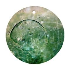 Dreamland Round Ornament (two Sides) by Siebenhuehner