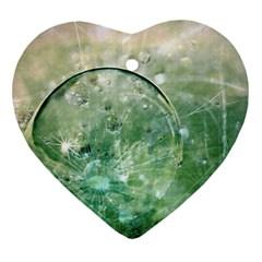 Dreamland Heart Ornament (two Sides) by Siebenhuehner