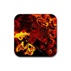Fire Drink Coasters 4 Pack (square) by Siebenhuehner