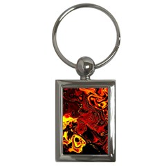 Fire Key Chain (rectangle) by Siebenhuehner