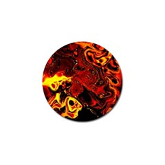 Fire Golf Ball Marker 10 Pack by Siebenhuehner