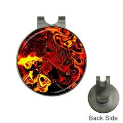 Fire Hat Clip With Golf Ball Marker by Siebenhuehner