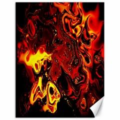 Fire Canvas 18  X 24  (unframed) by Siebenhuehner