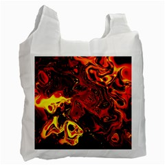 Fire Recycle Bag (two Sides) by Siebenhuehner