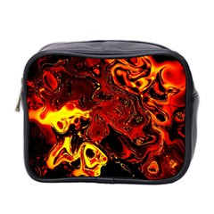 Fire Mini Travel Toiletry Bag (Two Sides) by Siebenhuehner