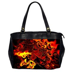 Fire Oversize Office Handbag (two Sides) by Siebenhuehner