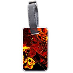 Fire Luggage Tag (two Sides) by Siebenhuehner