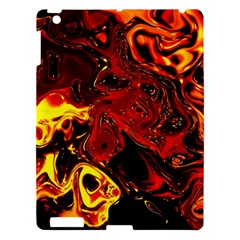 Fire Apple Ipad 3/4 Hardshell Case by Siebenhuehner