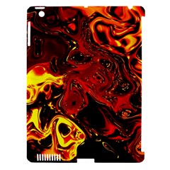 Fire Apple Ipad 3/4 Hardshell Case (compatible With Smart Cover) by Siebenhuehner