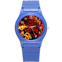 Fire Plastic Sport Watch (small) by Siebenhuehner