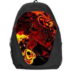 Fire Backpack Bag by Siebenhuehner