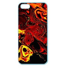 Fire Apple Seamless Iphone 5 Case (color) by Siebenhuehner