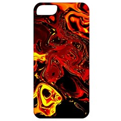 Fire Apple Iphone 5 Classic Hardshell Case by Siebenhuehner