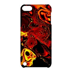 Fire Apple Ipod Touch 5 Hardshell Case With Stand by Siebenhuehner