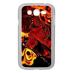 Fire Samsung Galaxy Grand Duos I9082 Case (white) by Siebenhuehner