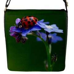 Good Luck Flap Closure Messenger Bag (small) by Siebenhuehner