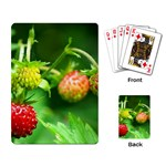 Strawberry  Playing Cards Single Design Back