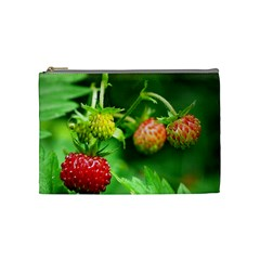 Strawberry  Cosmetic Bag (medium) by Siebenhuehner