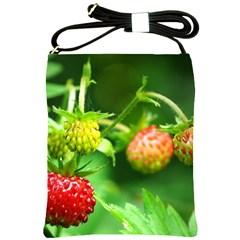 Strawberry  Shoulder Sling Bag