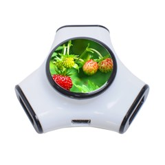 Strawberry  3 Port Usb Hub