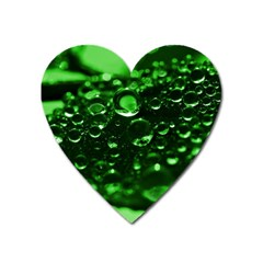 Waterdrops Magnet (heart)
