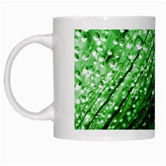 Waterdrops White Coffee Mug by Siebenhuehner