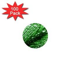 Waterdrops 1  Mini Button Magnet (100 Pack) by Siebenhuehner