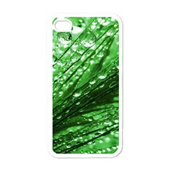 Waterdrops Apple Iphone 4 Case (white) by Siebenhuehner
