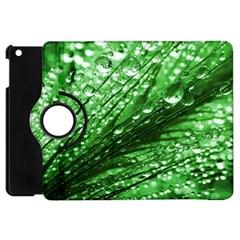 Waterdrops Apple Ipad Mini Flip 360 Case by Siebenhuehner