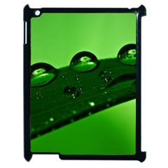 Waterdrops Apple Ipad 2 Case (black) by Siebenhuehner