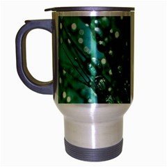 Waterdrops Travel Mug (silver Gray) by Siebenhuehner
