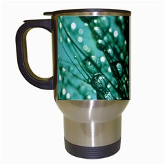 Waterdrops Travel Mug (white) by Siebenhuehner