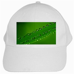 Waterdrops White Baseball Cap by Siebenhuehner