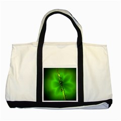 Waterdrops Two Toned Tote Bag by Siebenhuehner