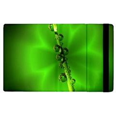 Waterdrops Apple Ipad 2 Flip Case by Siebenhuehner