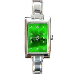 Drops Rectangular Italian Charm Watch by Siebenhuehner
