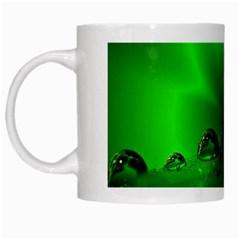 Drops White Coffee Mug by Siebenhuehner