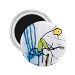 olp sit stick man 2.25  Magnet